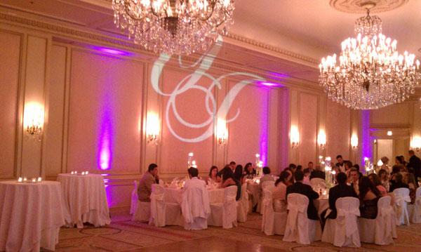 Westgate-Hotel-Wedding-reception-mongram
