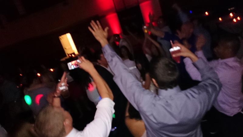 Coronado Community Center Wedding Reception Dancing