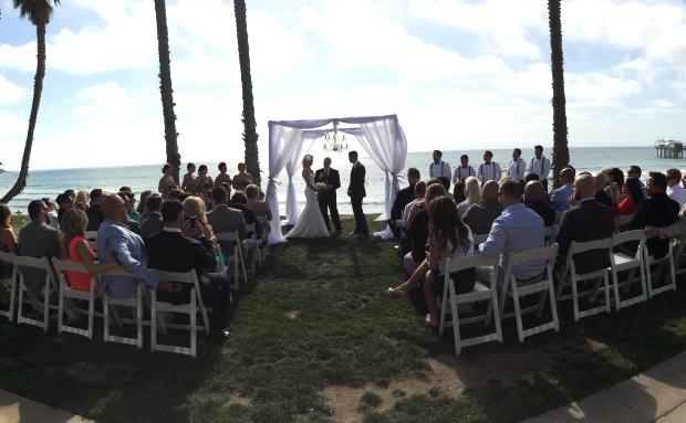 Scripps seaside wedding dj