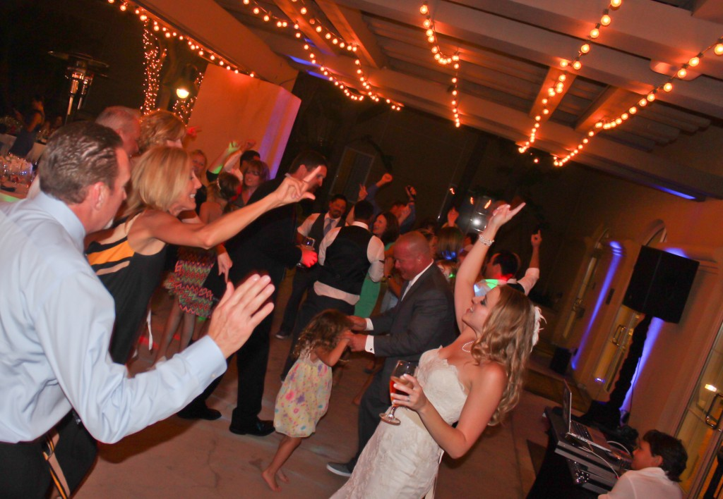 MY DJs Wedding Reception Dance Floor at Hilton Garden Inn Carlsbad