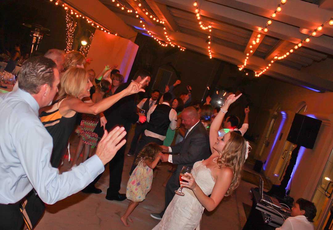 MY DJs Wedding Reception Dance Floor At Hilton Garden Inn Carlsbad San Di