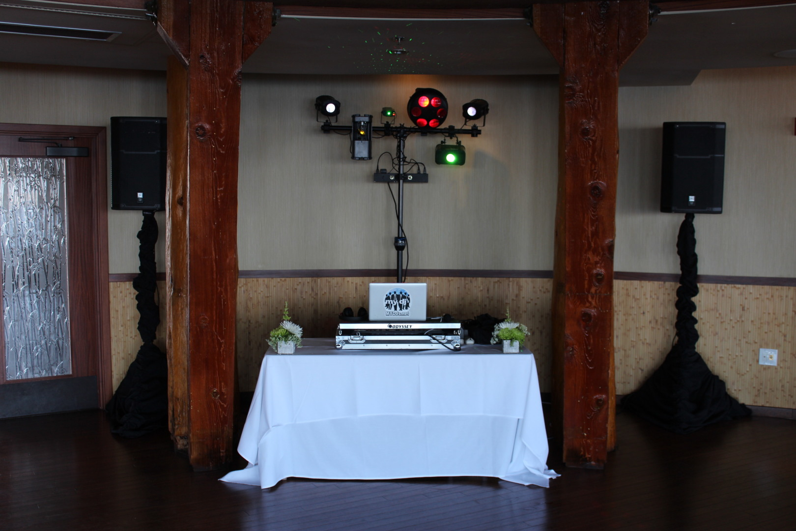 MY DJs Reception Setup with Party Lights at Bali Hai & MY DJs Reception Setup with Party Lights at Bali Hai » San Diego DJs ...