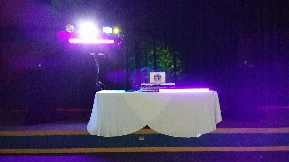 San Diego DJ Black Lights