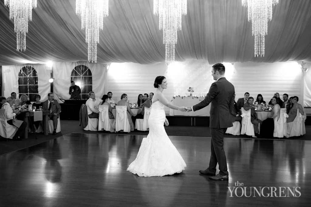 First Dance at MY DJs Green Gables Wedding Reception
