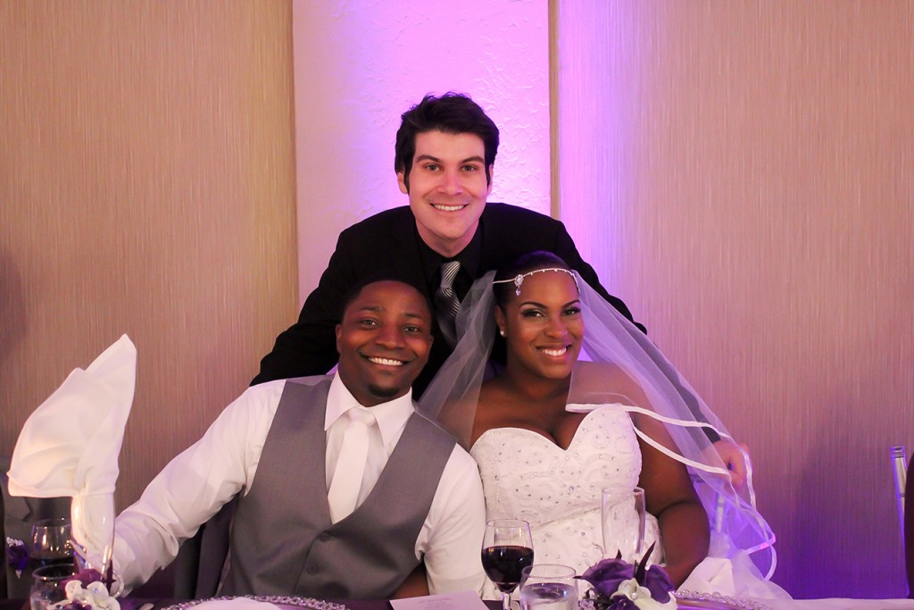 MY DJs Joshua Duncan with Crystal and Adam Barry