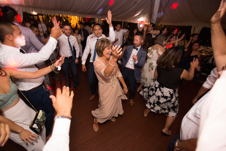 wedding dance floor photo