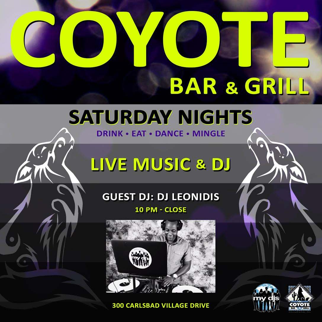 coyote-dj-saturday-flyer