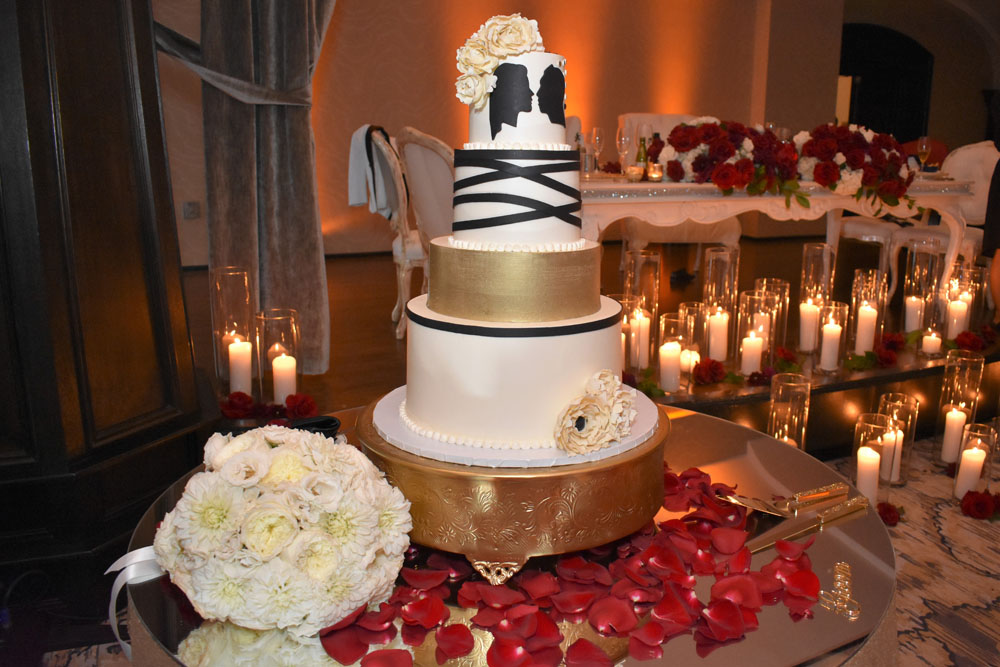 San Diego Luxary Wedding Cakes