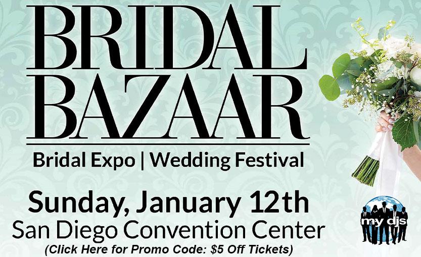 Bridal Bazaar San Diego MY DJs Promo